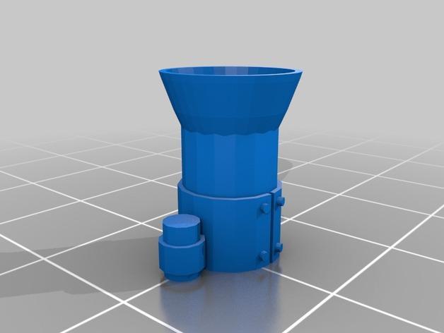 达卡炮塔 3D模型  图4