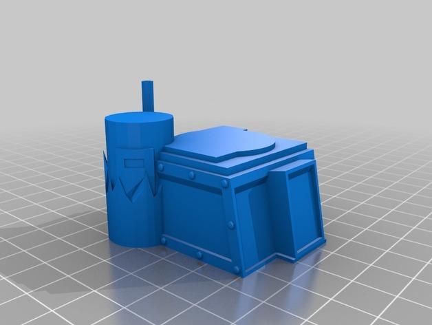 达卡炮塔 3D模型  图6