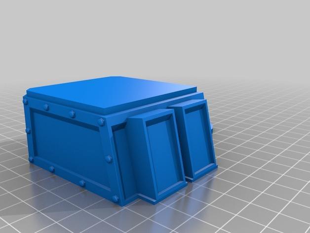 达卡炮塔 3D模型  图8