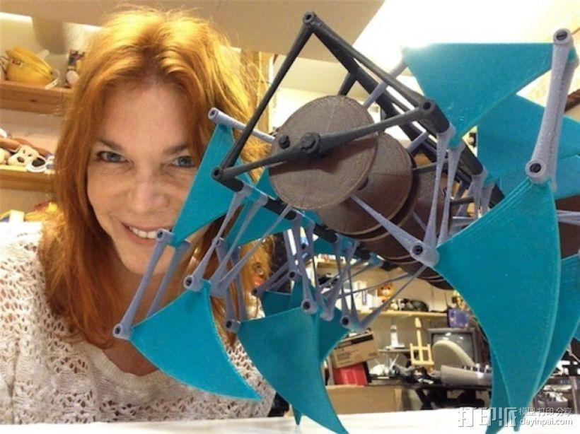 风行机械兽 3D模型  图1