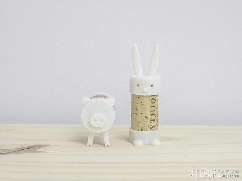 软木兔 3D模型  图2