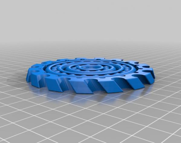 球状承轴 3D模型  图2