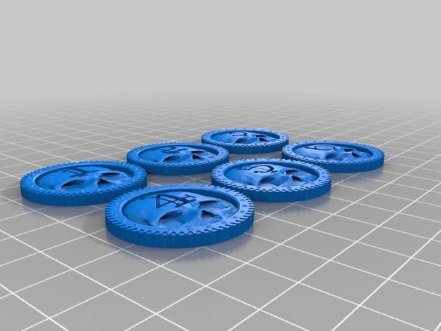 骷髅头计数器 3D模型  图3
