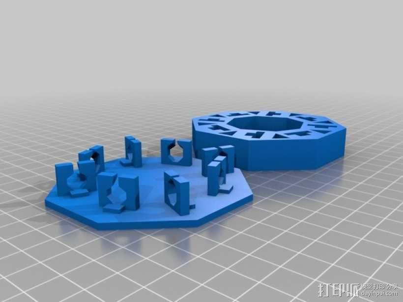旋转拼图盒 3D模型  图2