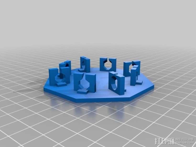 旋转拼图盒 3D模型  图4