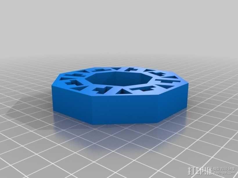 旋转拼图盒 3D模型  图3