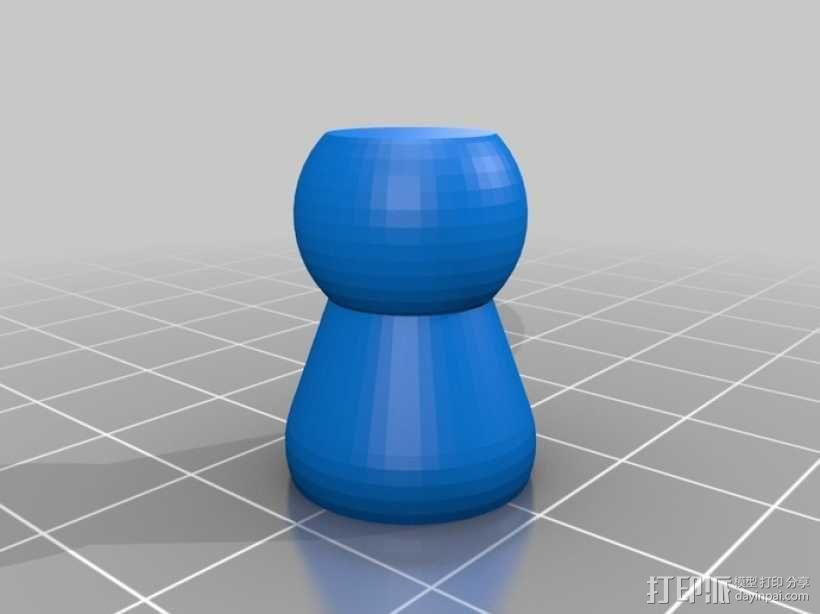 软管 3D模型  图1