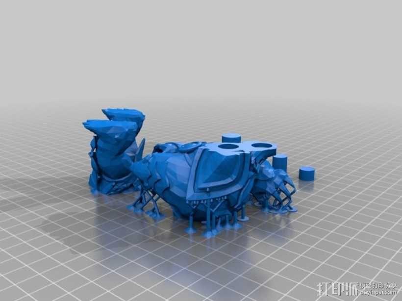 弗力贝尔玩偶 3D模型  图3