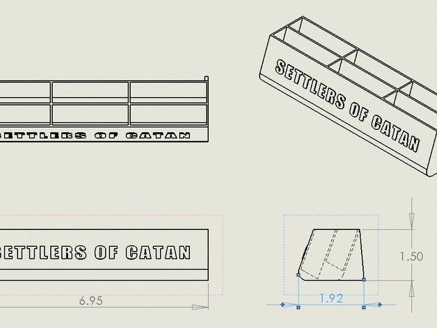 卡坦岛卡盒 3D模型  图3