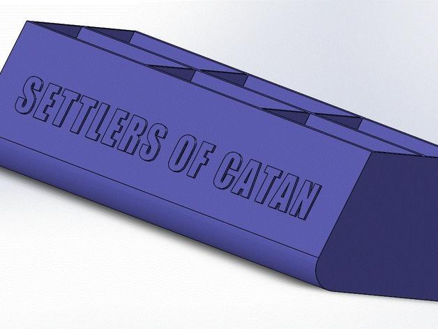 卡坦岛卡盒 3D模型  图1