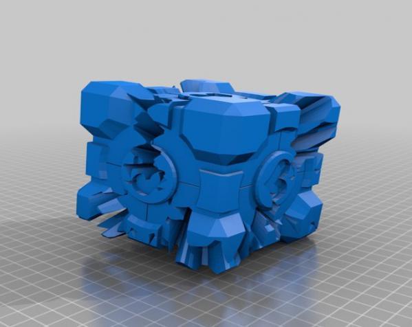齿轮式二阶魔方 3D模型  图4
