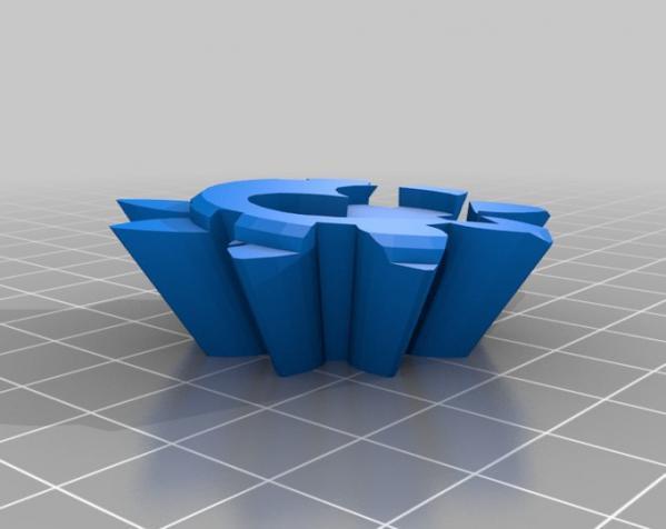 齿轮式二阶魔方 3D模型  图3