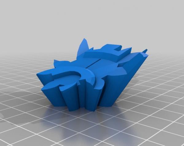 齿轮式二阶魔方 3D模型  图6
