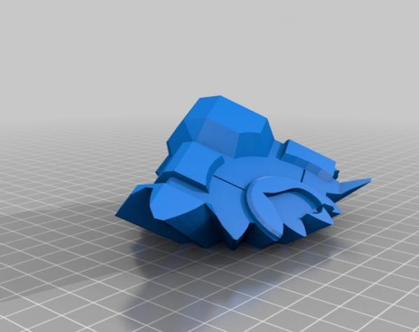 齿轮式二阶魔方 3D模型  图8