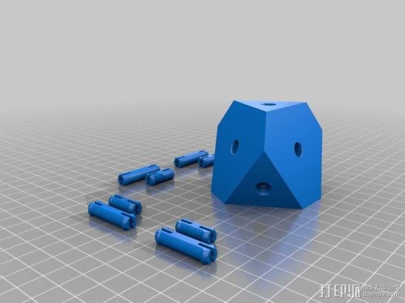 齿轮式二阶魔方 3D模型  图10