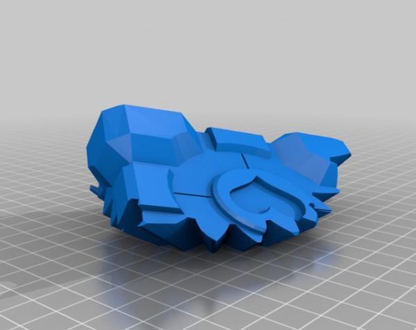 齿轮式二阶魔方 3D模型  图9