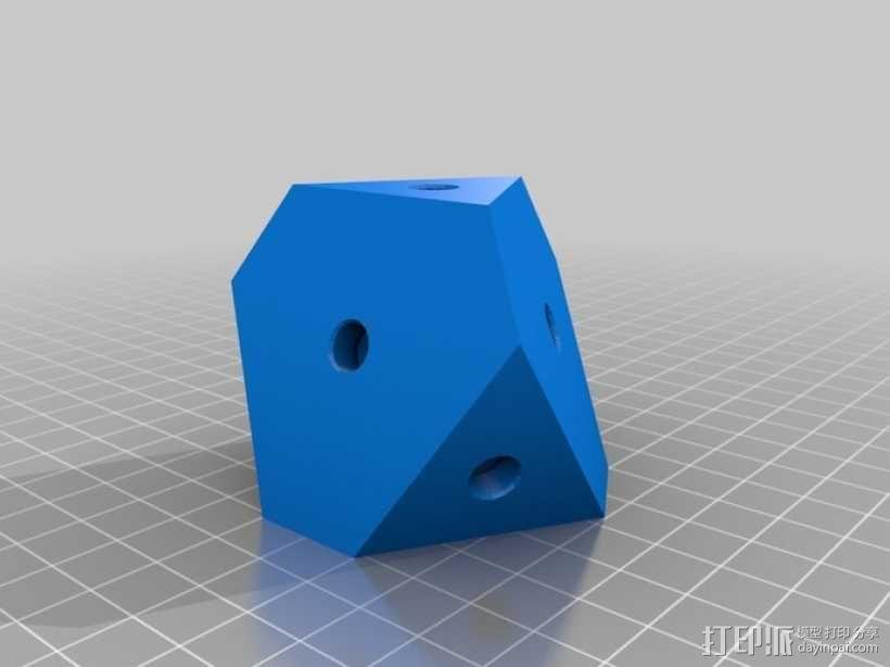 齿轮式二阶魔方 3D模型  图12