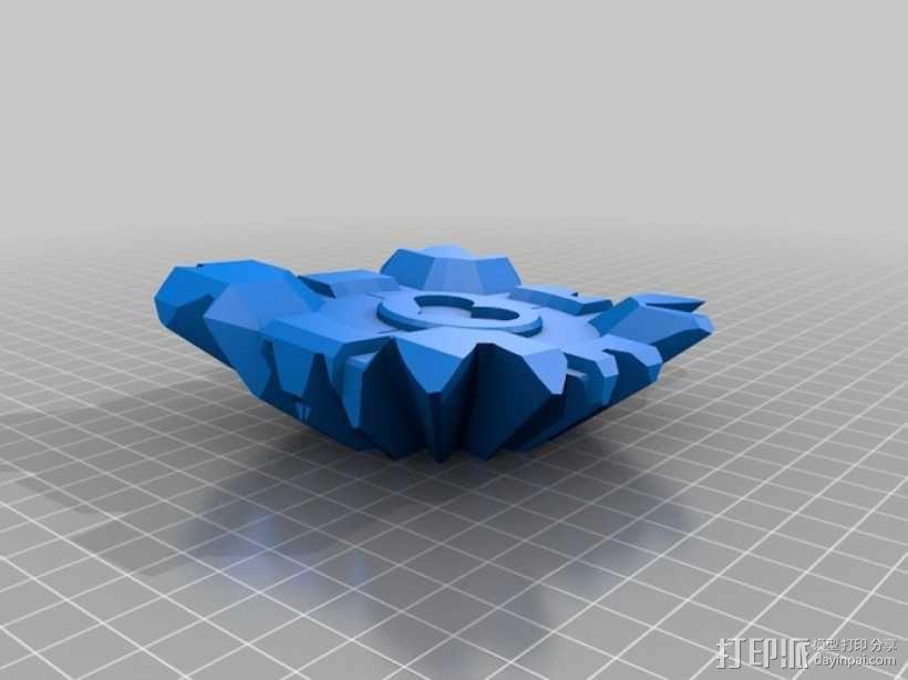 齿轮式二阶魔方 3D模型  图14