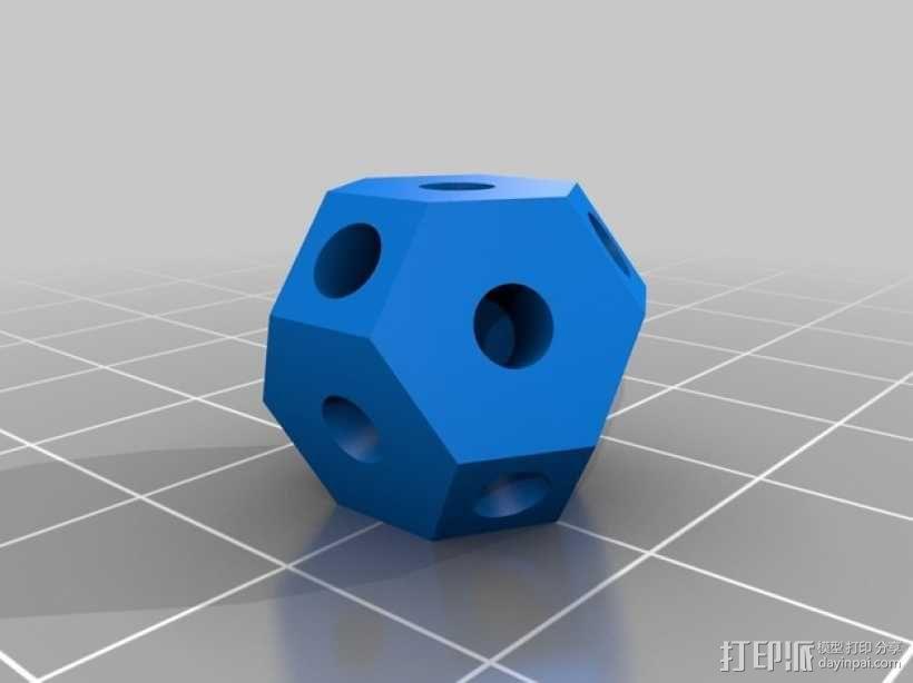 可定制化晶体积木 3D模型  图5