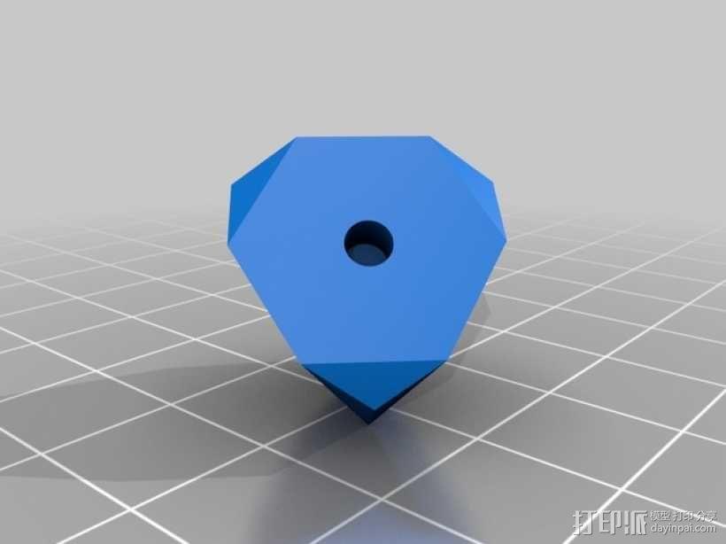 可定制化晶体积木 3D模型  图4