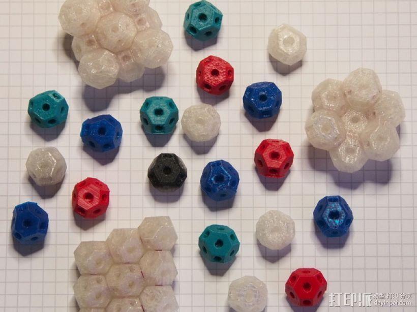 可定制化晶体积木 3D模型  图7