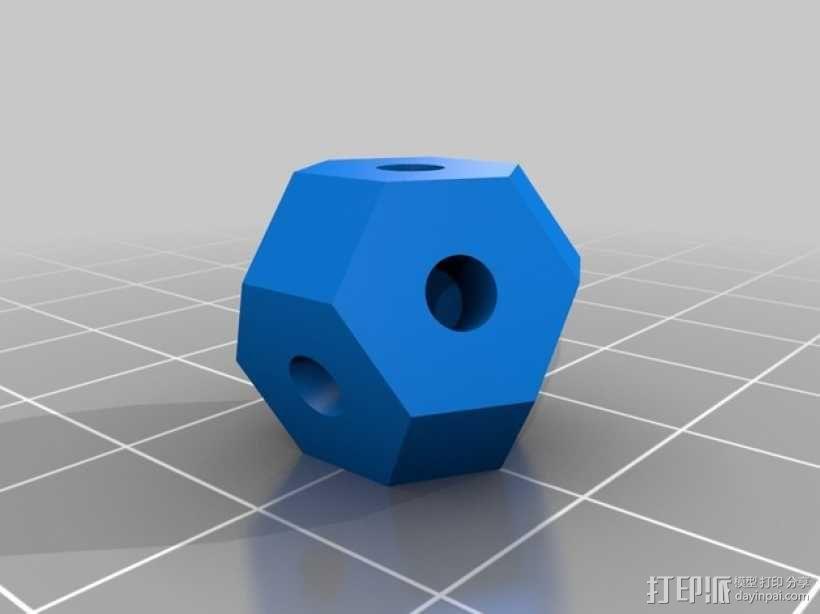 可定制化晶体积木 3D模型  图6
