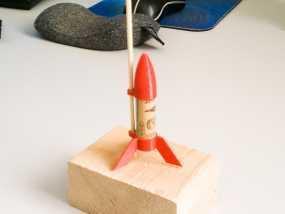 一次性火箭 3D模型