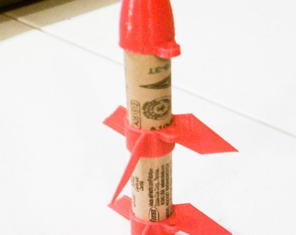一次性火箭 3D模型  图2