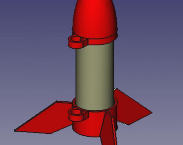 一次性火箭 3D模型  图4