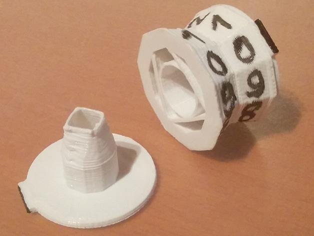 旋转计数器 3D模型  图5