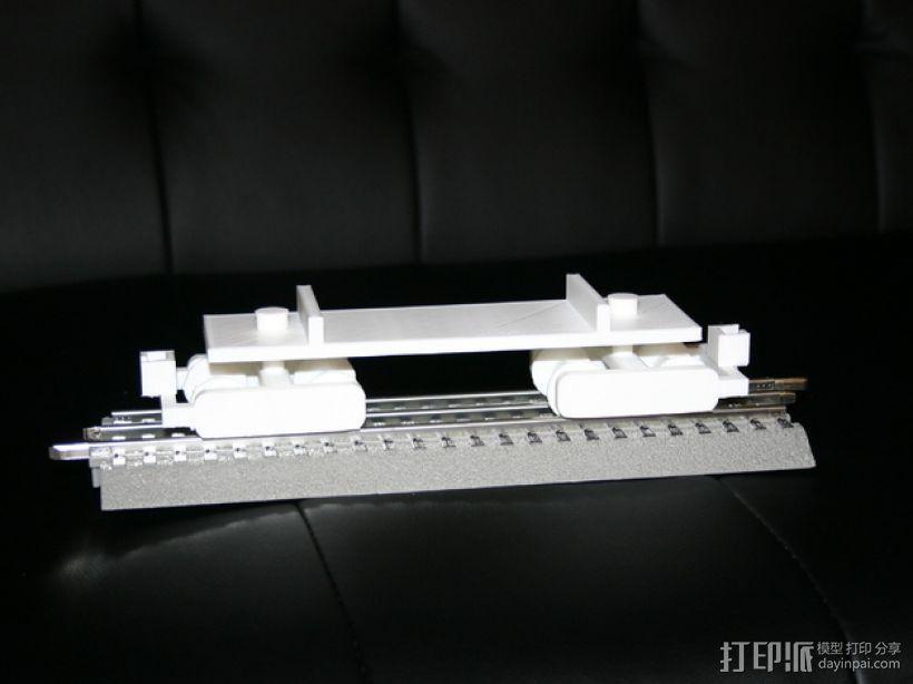 机动轨道车1 3D模型  图2