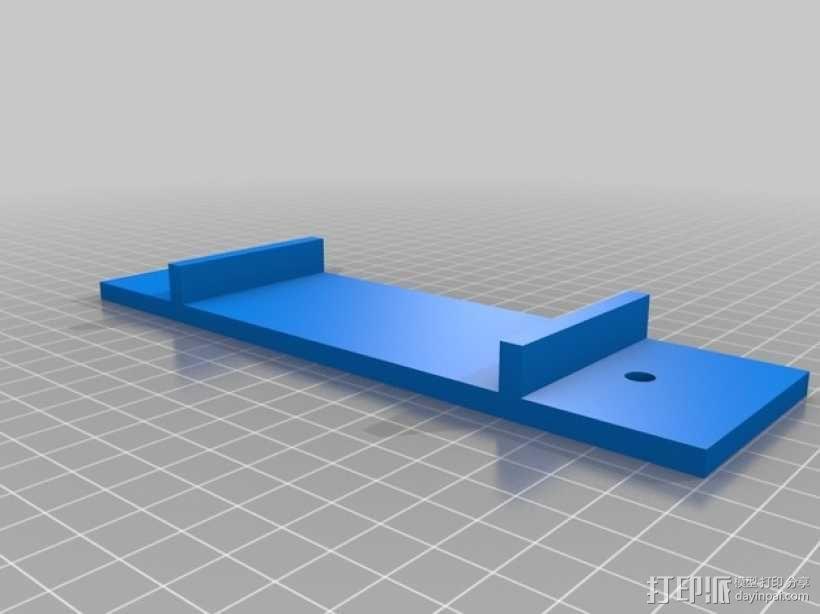 机动轨道车1 3D模型  图3