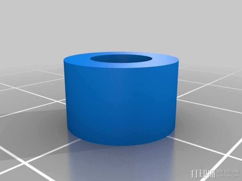 机动轨道车1 3D模型  图4