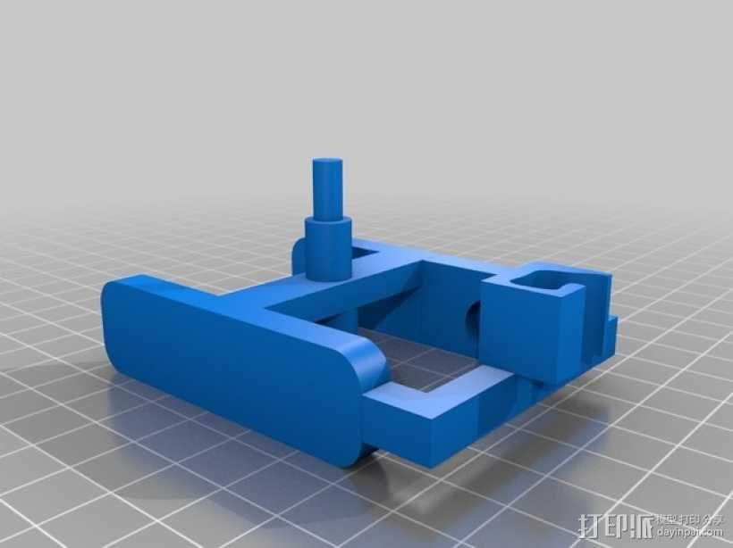 机动轨道车1 3D模型  图6