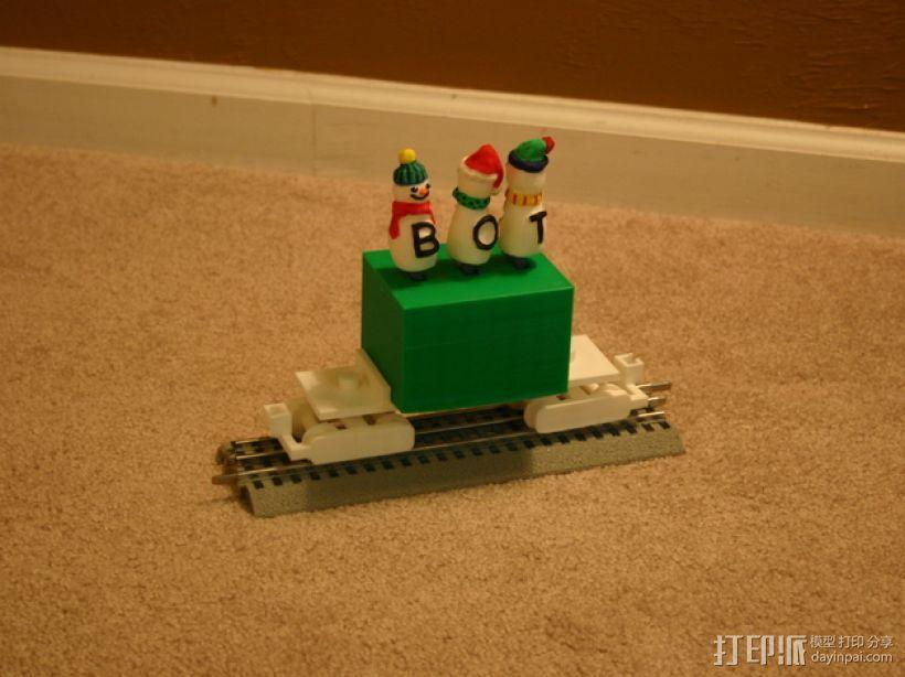 机动轨道车1 3D模型  图8
