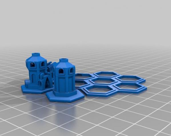 迷你城堡 3D模型  图3