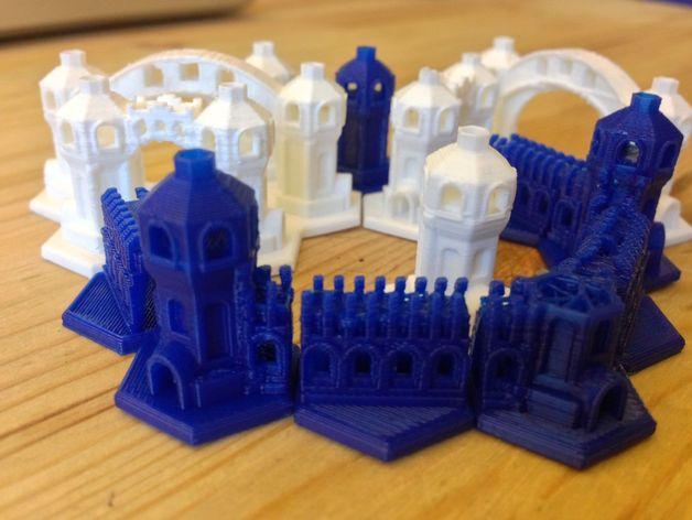迷你城堡 3D模型  图2