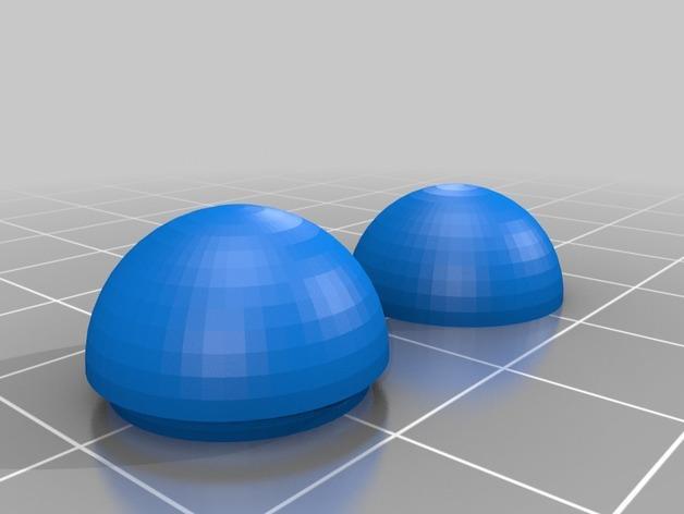 迷你小球 3D模型  图1