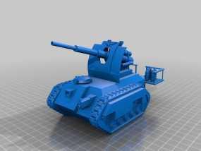 Cockatrice坦克 3D模型