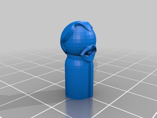 怪物棋子 3D模型  图5