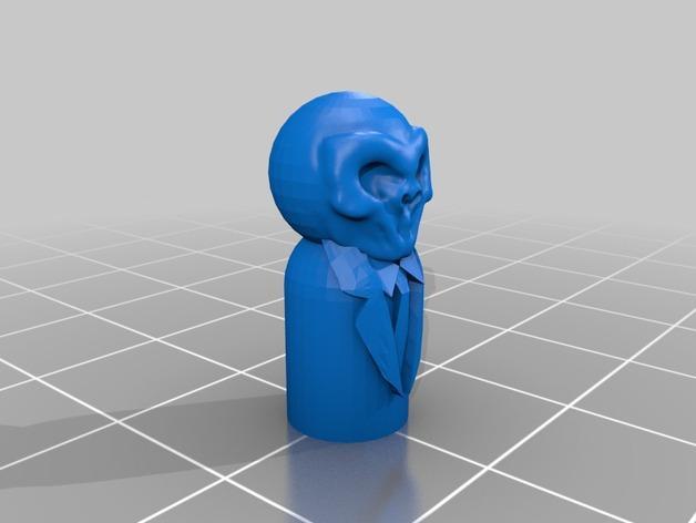 怪物棋子 3D模型  图6