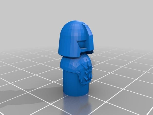 怪物棋子 3D模型  图14