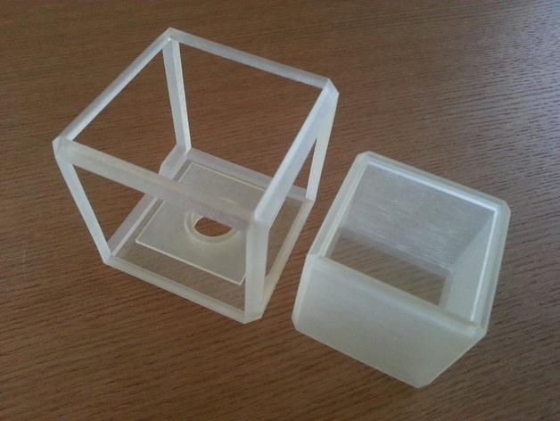 方形灯罩 3D模型  图3