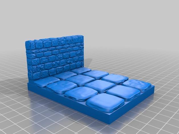 迷你石墙 3D模型  图10