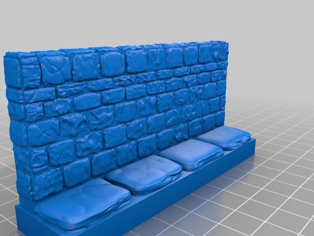 迷你石墙 3D模型  图11
