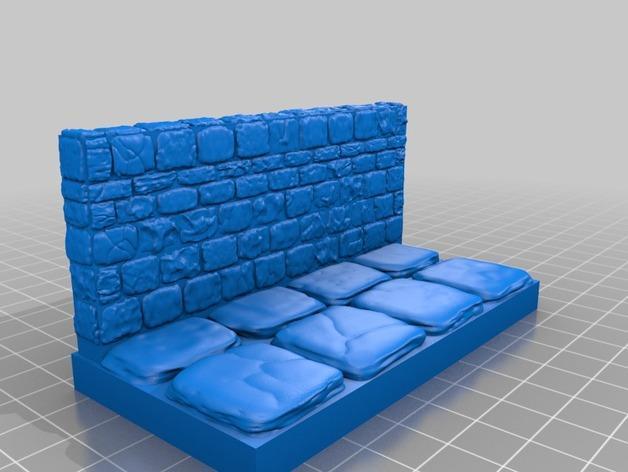 迷你石墙 3D模型  图12