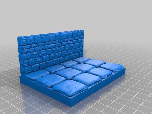 迷你石墙 3D模型  图13