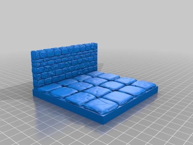 迷你石墙 3D模型  图14