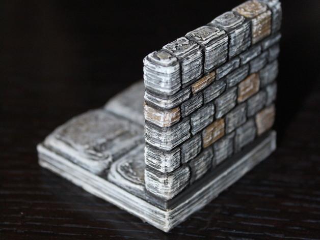 迷你石墙 3D模型  图15