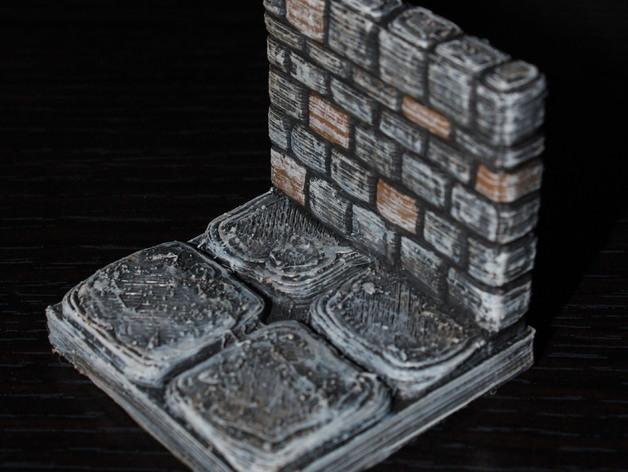 迷你石墙 3D模型  图16